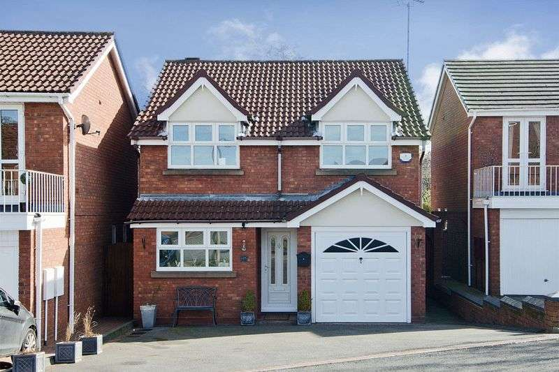 3 Bedrooms Detached House for sale in Marigold Close, Heath Hayes