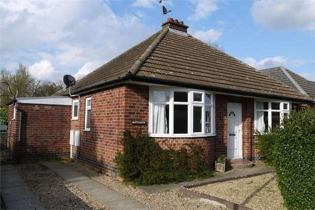 2 Bedrooms Detached Bungalow for sale in 'Whitehaven', Green Lane, Market Harborough, Leicestershire