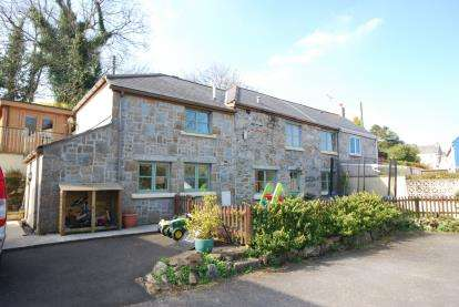 3 Bedrooms Semi Detached House for sale in Ponsanooth, Truro, Cornwall