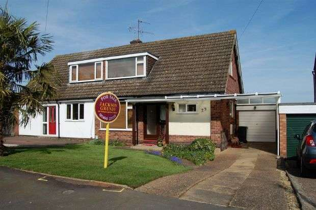 3 Bedrooms Semi Detached House for sale in Meshaw Crescent, Abington Vale, Northampton NN3 3NG