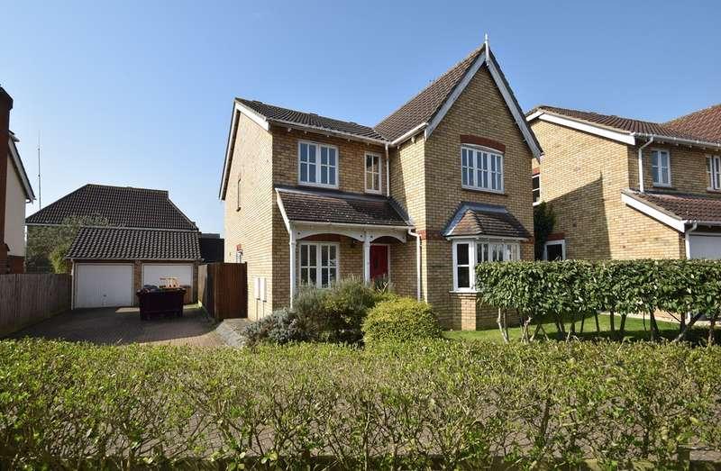 4 Bedrooms Detached House for sale in Monkswood Drive, Bishop's Stortford