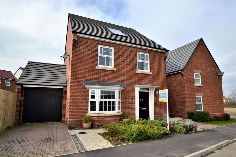 4 Bedrooms Detached House for sale in Ripley Close, Spennymoor