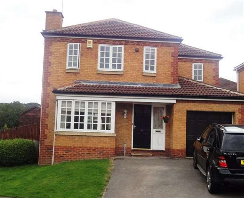 4 Bedrooms Detached House for rent in 32 Periwood Ave, Millhouses, Sheffield, S8 0HY