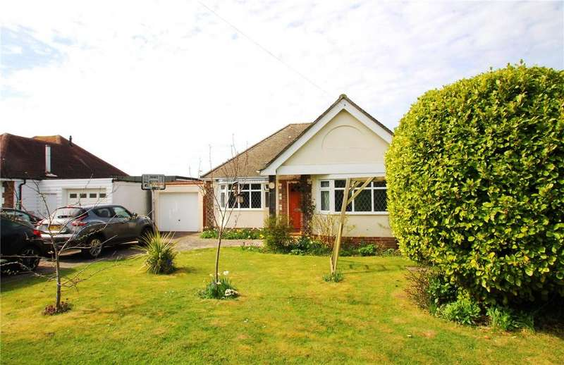 2 Bedrooms Detached Bungalow for sale in Foamcourt Waye, Ferring, Worthing, BN12