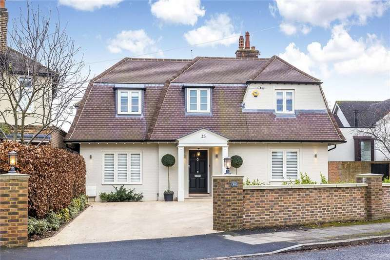 5 Bedrooms Detached House for sale in Ernle Road, Wimbledon, London, SW20