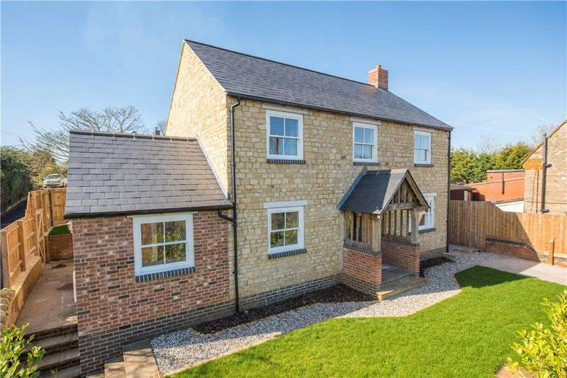 4 Bedrooms Detached House for sale in Forest Road, Piddington, Northampton, Northamptonshire