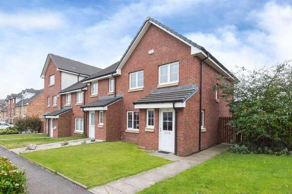 3 Bedrooms End Of Terrace House for sale in 278 Myreside Street, Glasgow, G32 6DX