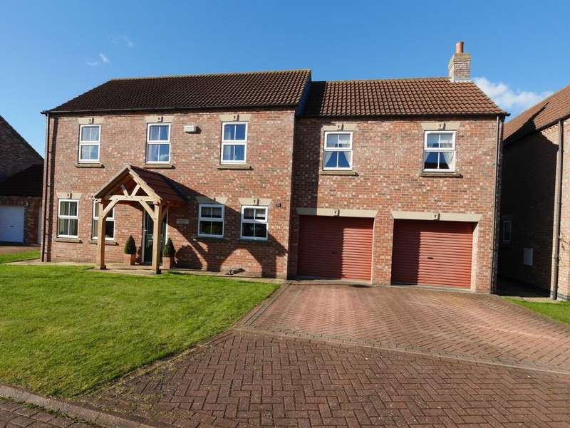 5 Bedrooms Detached House for sale in The Gables Paddock, Eastrington