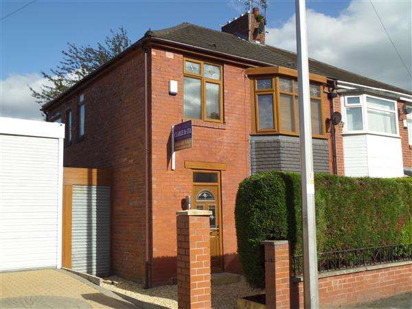 3 Bedrooms Semi Detached House for sale in Blue Bell Avenue, Moston, Manchester