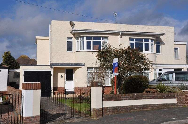 3 Bedrooms Semi Detached House for sale in Seymour Road, Exmouth