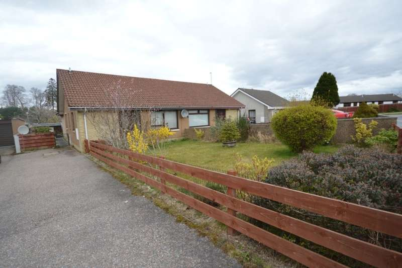3 Bedrooms Semi Detached Bungalow for sale in Lochlann Road, INVERNESS, IV2