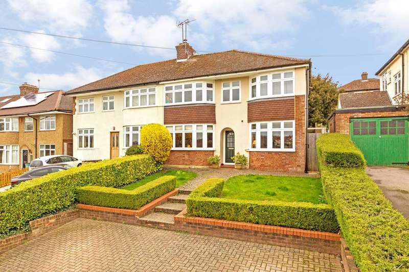 4 Bedrooms Semi Detached House for sale in Bridgewater Road, Berkhamsted
