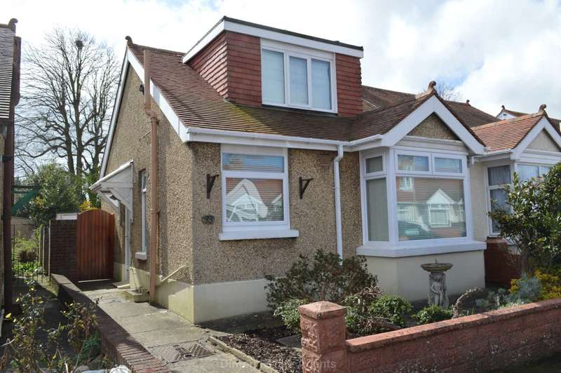 2 Bedrooms Semi Detached Bungalow for sale in Southcroft Road, Gosport