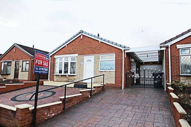 3 Bedrooms Detached Bungalow for sale in Pickwick Place, Stoke-On-Trent