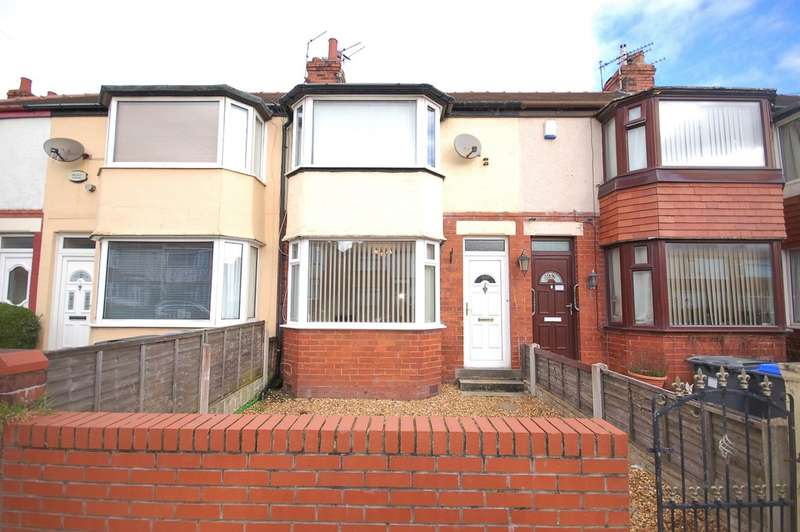 2 Bedrooms Terraced House for sale in Highbank Avenue, Blackpool