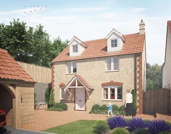 4 Bedrooms Detached House for sale in Squires Court, Corsley, Warminster