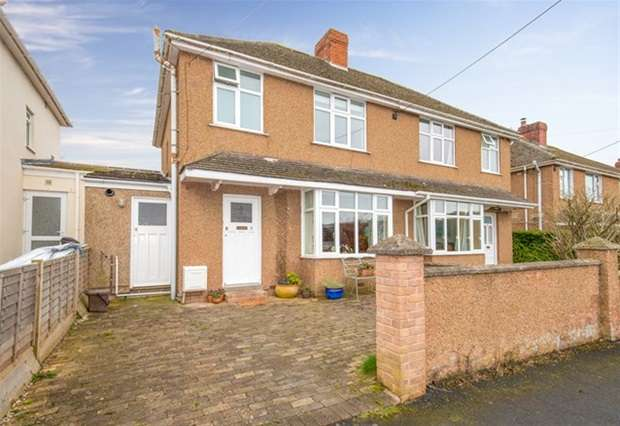 3 Bedrooms Semi Detached House for sale in Bedford Road, Wells, Somerset