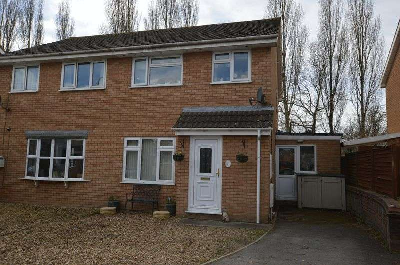3 Bedrooms Semi Detached House for sale in Hanover Close, Worle, Weston-super-Mare