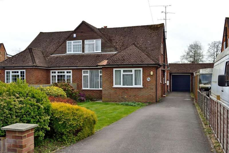 3 Bedrooms Semi Detached House for sale in The Crescent, Earley, Reading, Berkshire, RG6 7NN