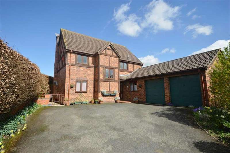 4 Bedrooms Detached House for sale in 25, Westgate, Leominster, HR6