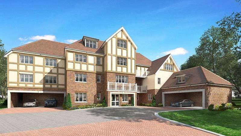 3 Bedrooms Flat for sale in High Peak, London Road, Sunningdale, Berkshire, SL5