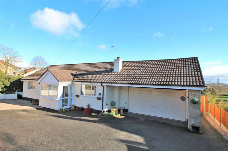3 Bedrooms Detached Bungalow for sale in Ruthin Road, Bwlchgwyn, Wrexham, LL11