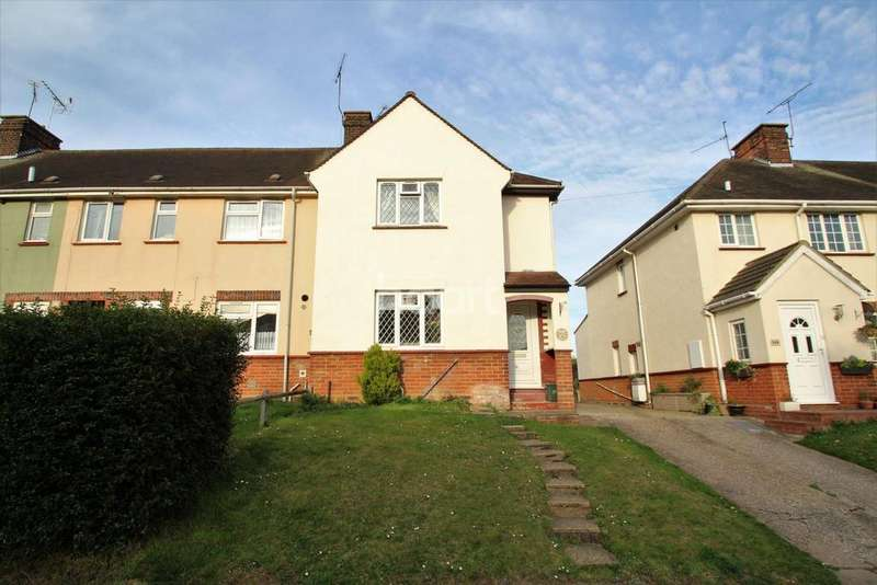 3 Bedrooms End Of Terrace House for sale in Church Street, Witham, CM8