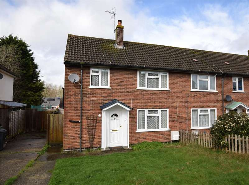 3 Bedrooms End Of Terrace House for sale in Omers Rise, Burghfield Common, Reading, Berkshire, RG7