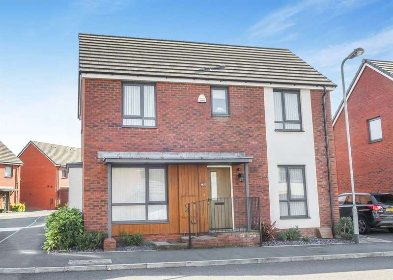 3 Bedrooms Detached House for sale in Bartley Wilson Way, Cardiff