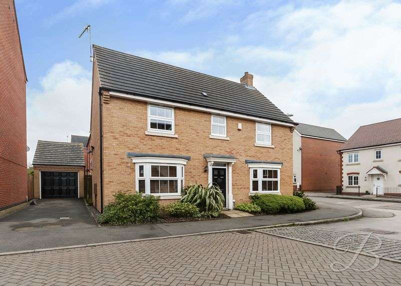 4 Bedrooms Detached House for sale in Hornbeam Way, Kirkby-In-Ashfield