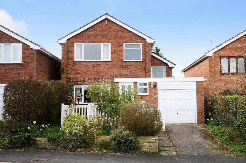 3 Bedrooms Detached House for sale in 14 St Chads Road, Eccleshall, Staffordshire. ST21 6AH