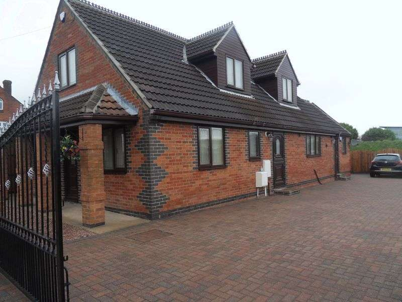 4 Bedrooms Detached Bungalow for sale in Ashby Road, Coalville