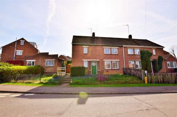 3 Bedrooms Semi Detached House for sale in Hillside Road, Nether Heyford, NORTHAMPTON