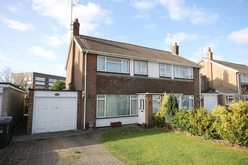 3 Bedrooms Semi Detached House for sale in Orchard Road, Burgess Hill, West Sussex