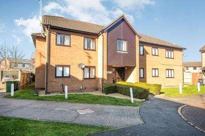 1 Bedroom Flat for sale in Stagshaw Drive, Peterborough, Cambridgeshire