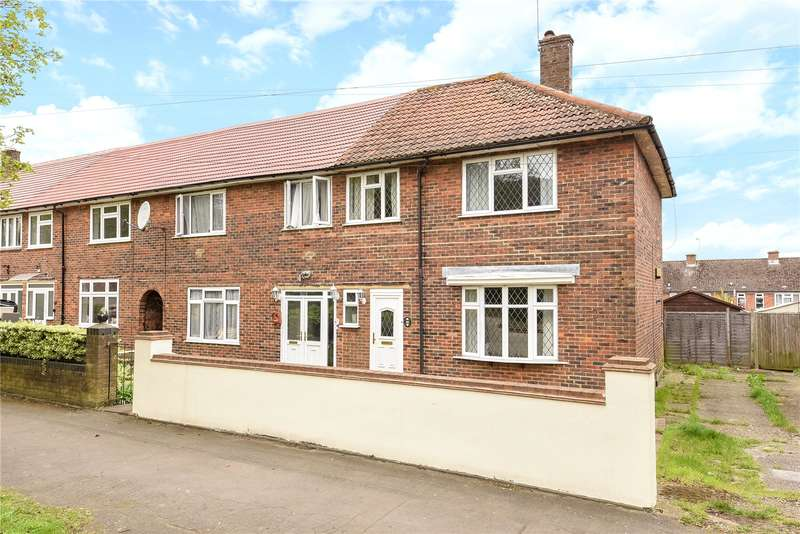 3 Bedrooms End Of Terrace House for sale in Fairfield Avenue, Watford, Hertfordshire, WD19