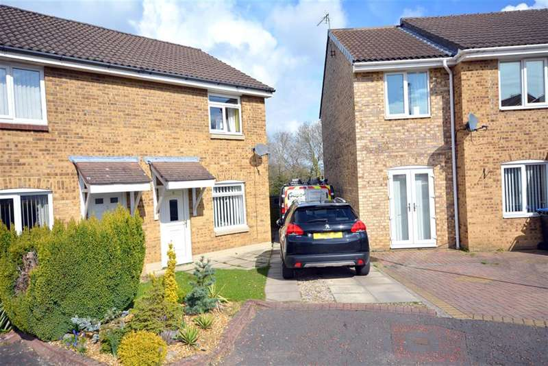 2 Bedrooms Semi Detached House for sale in Whitby Close, Bishop Auckland, , DL14 0RU