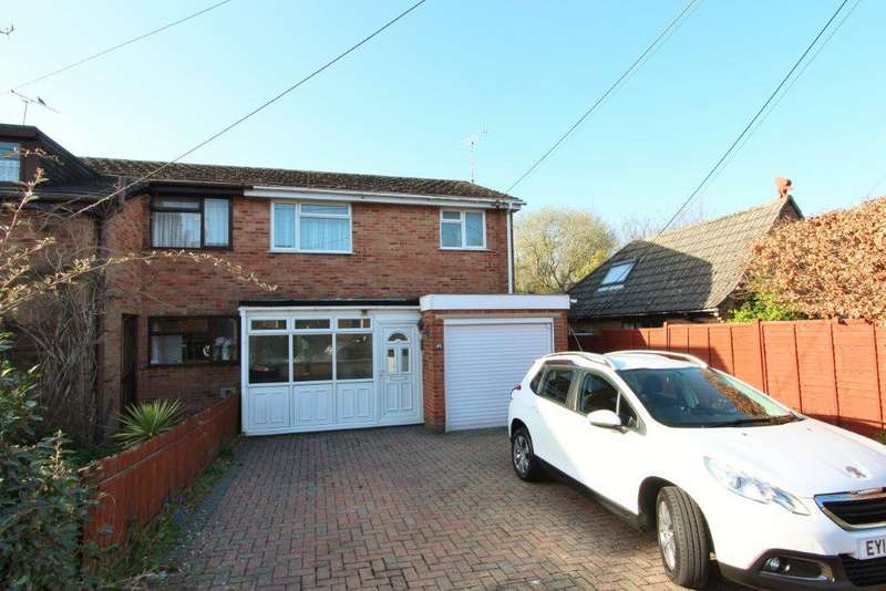3 Bedrooms Semi Detached House for sale in Granada Road, Hedge End SO30