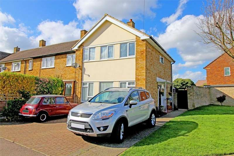 2 Bedrooms End Of Terrace House for sale in Midhurst, Letchworth Garden City, Hertfordshire