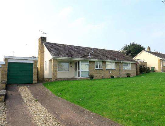 2 Bedrooms Detached Bungalow for sale in Daws Mead, Taunton TA1