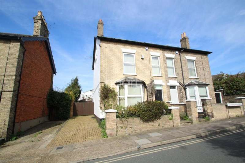 4 Bedrooms Semi Detached House for sale in Cumberland Street, Ipswich, IP1