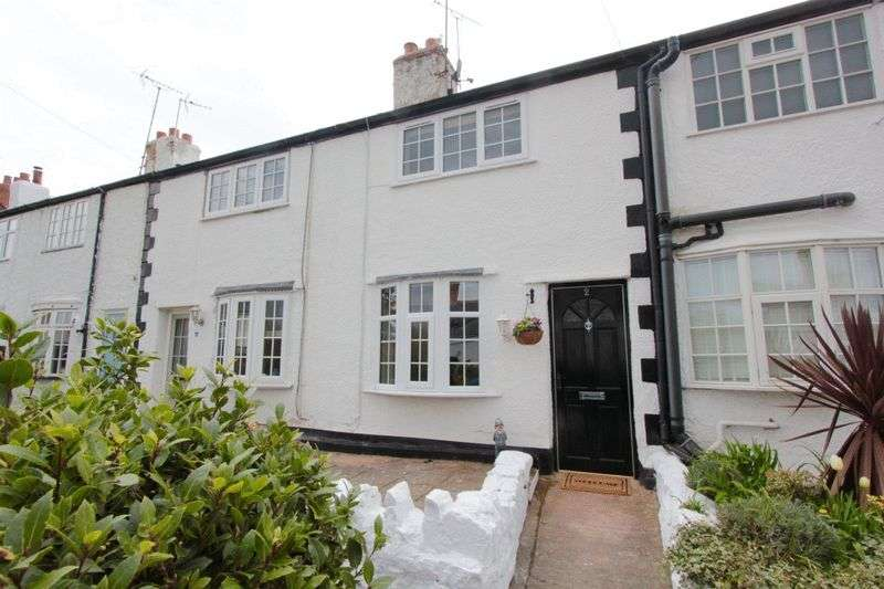 2 Bedrooms Terraced House for sale in Elwy Terrace, St. Asaph