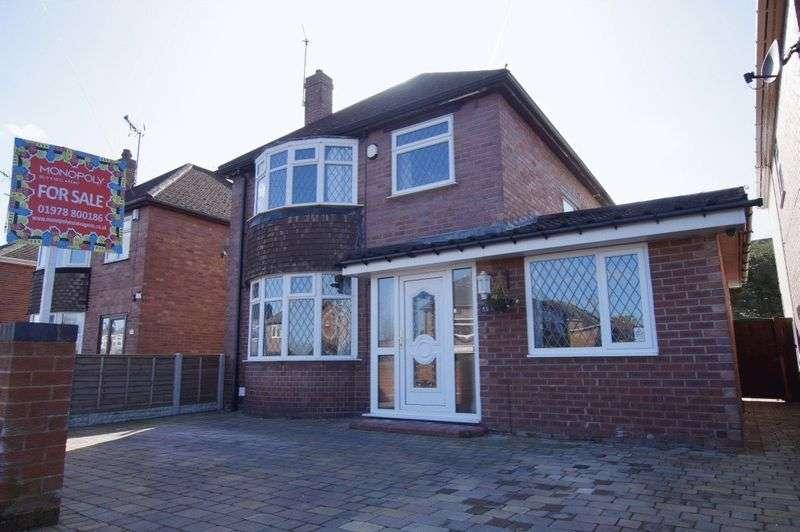 3 Bedrooms Detached House for sale in Eldon Grove, Rhostyllen, Wrexham