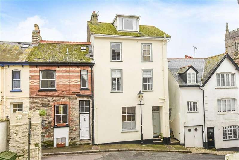 4 Bedrooms Semi Detached House for sale in South Ford Road, Dartmouth, Devon, TQ6