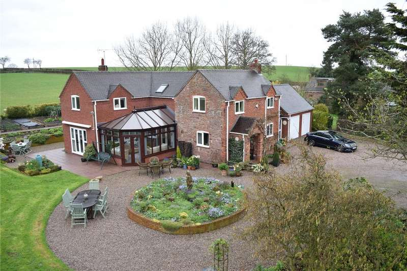 4 Bedrooms Detached House for sale in Stoney Stretton, Yockleton, Shrewsbury, Shropshire
