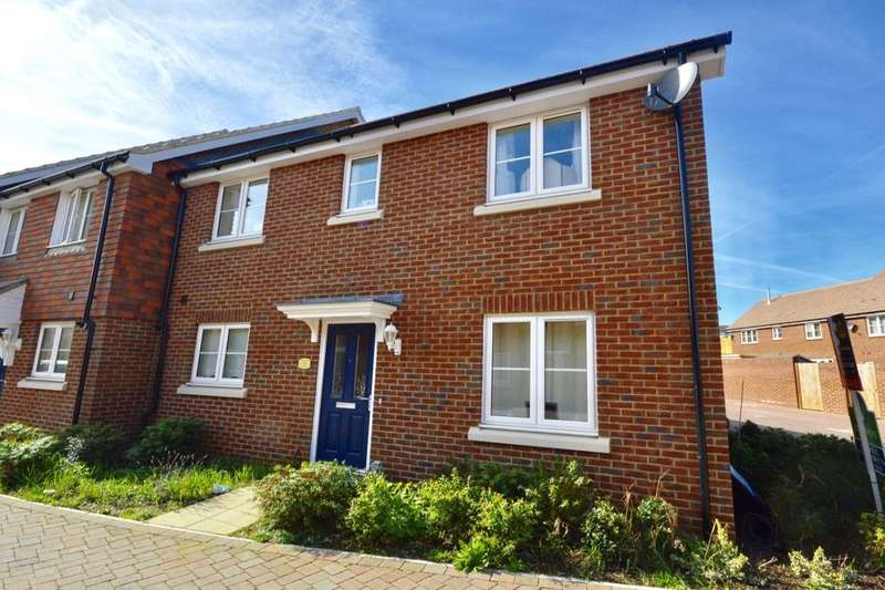 3 Bedrooms Semi Detached House for sale in Choir Close, Wainscott, ROCHESTER, ME3