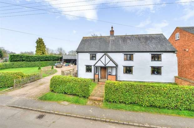 4 Bedrooms Detached House for sale in Kelmarsh Road, Clipston, Market Harborough, Northamptonshire