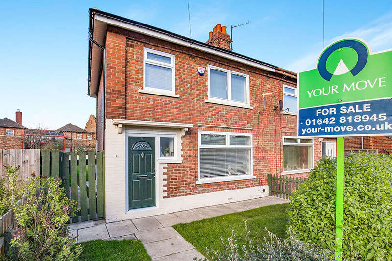 3 Bedrooms Semi Detached House for sale in Liverton Avenue, Middlesbrough, TS5