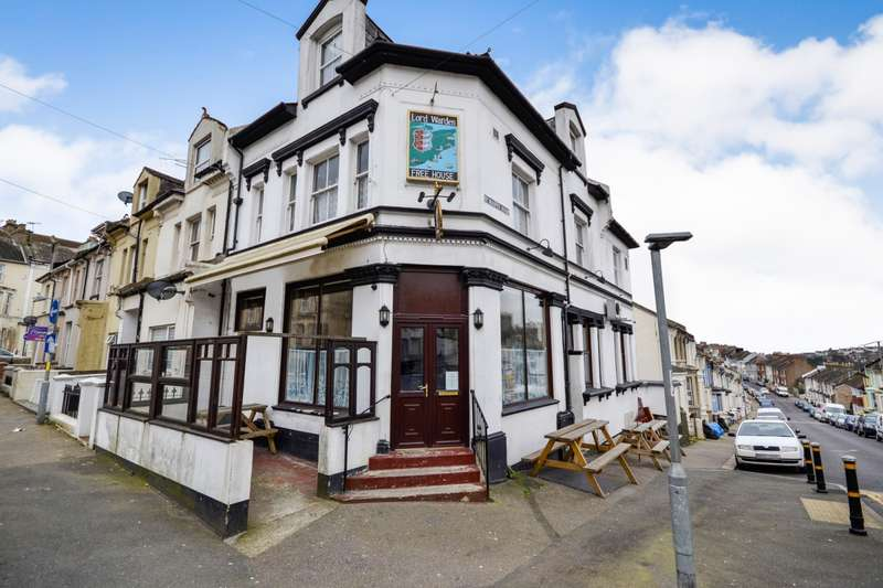 5 Bedrooms Commercial Property for sale in Manor Rd, Hastings, Lord Warden Pub, Hastings, TN34