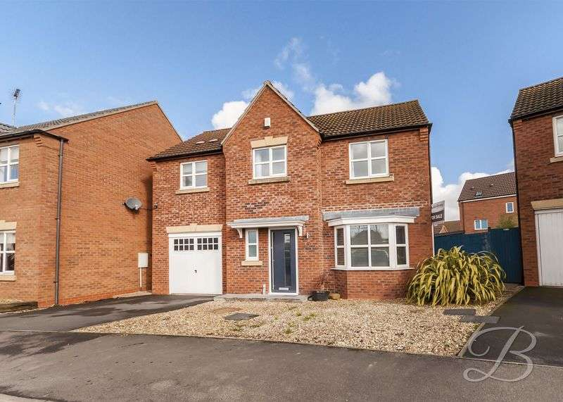 5 Bedrooms Detached House for sale in Dunsil Road, Mansfield Woodhouse